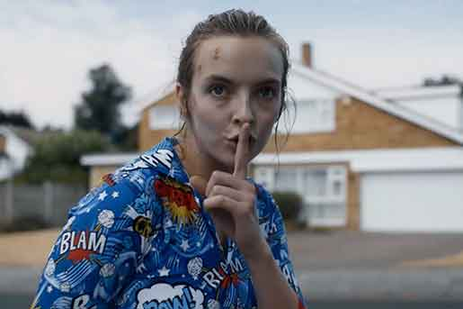 Jodie Comer in BBC's Killing Eve
